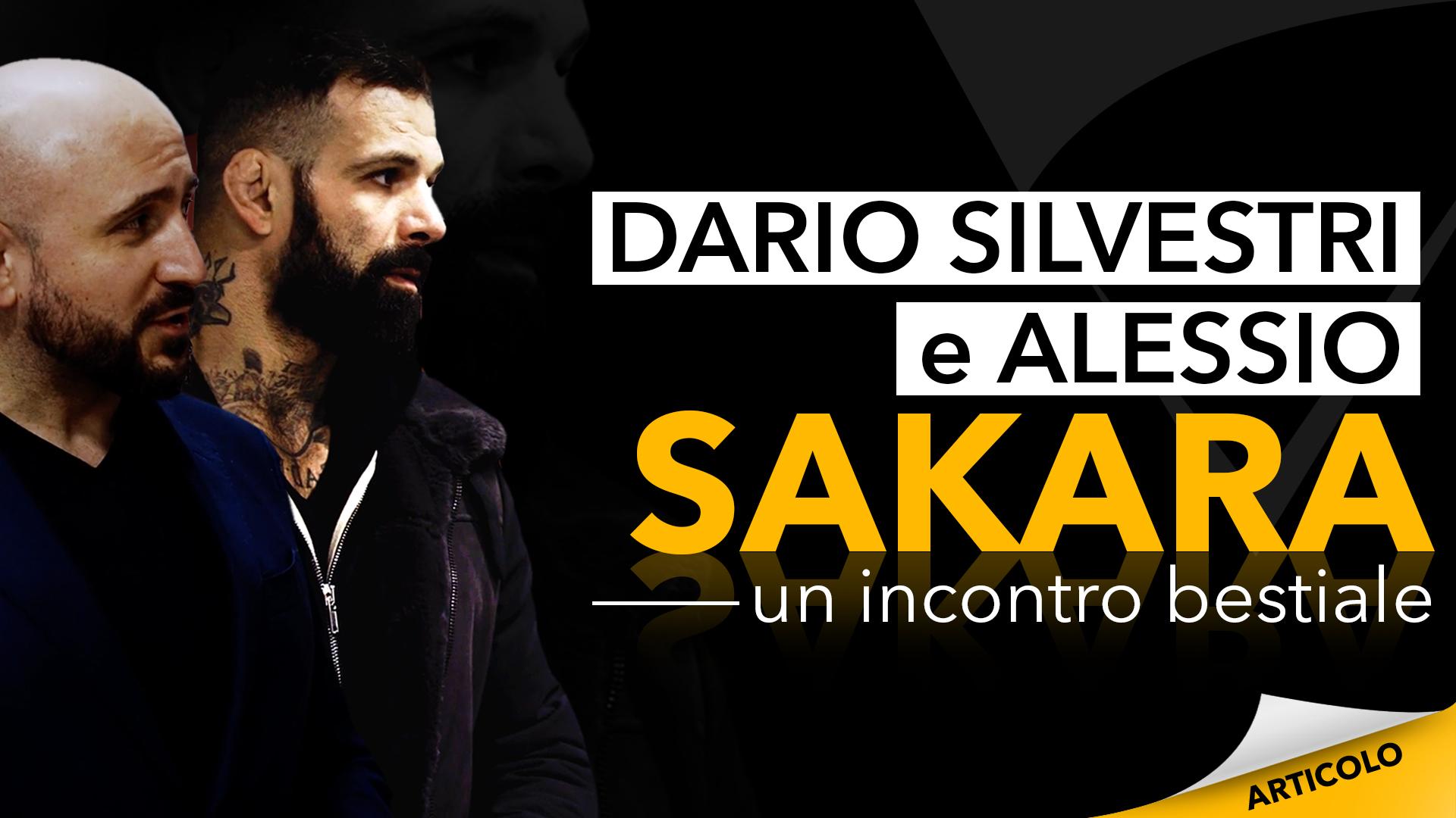 Dario Silvestri e Alessio Sakara